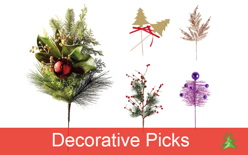 picks yes picks you heard that right decorative picks are the sprays of flowers branches and leaves that we add to our christmas trees and tabletop - Decorative Picks For Christmas Trees