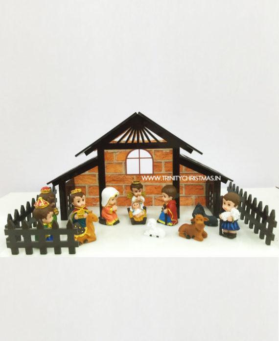 Baby Crib Nativity set
