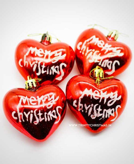 Christmas Heart Decoration