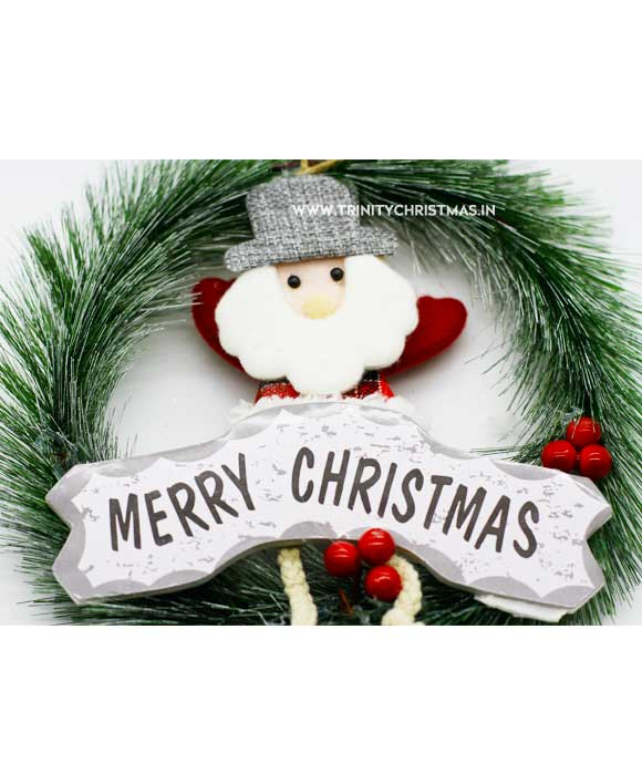 Christmas Wreath Merry Christmass