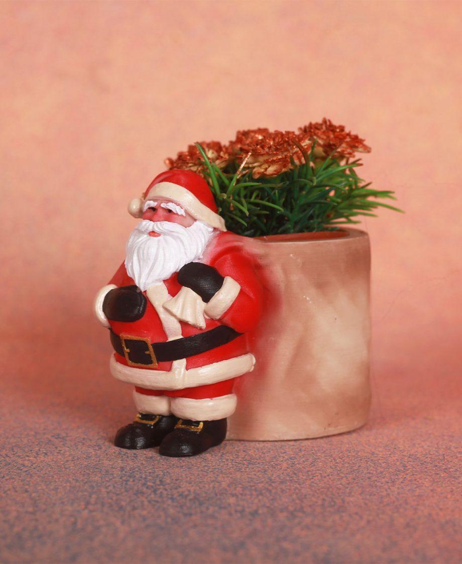 Santa Plant Pot