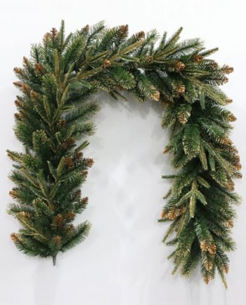 Champagne Gold Christmas Garland