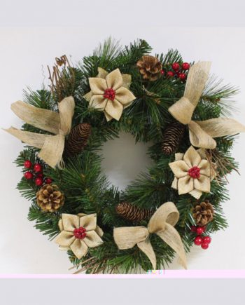 Woodland Pine Christmas Wreath