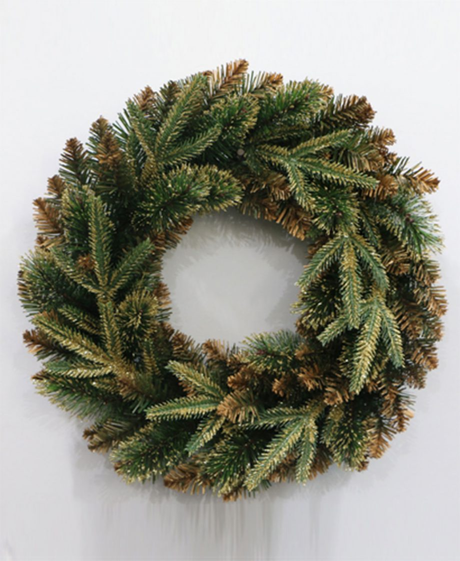 Luxurious Champagne Gold Christmas Wreath